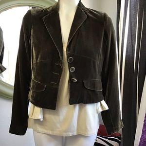 DKNY City Velvet Jacket